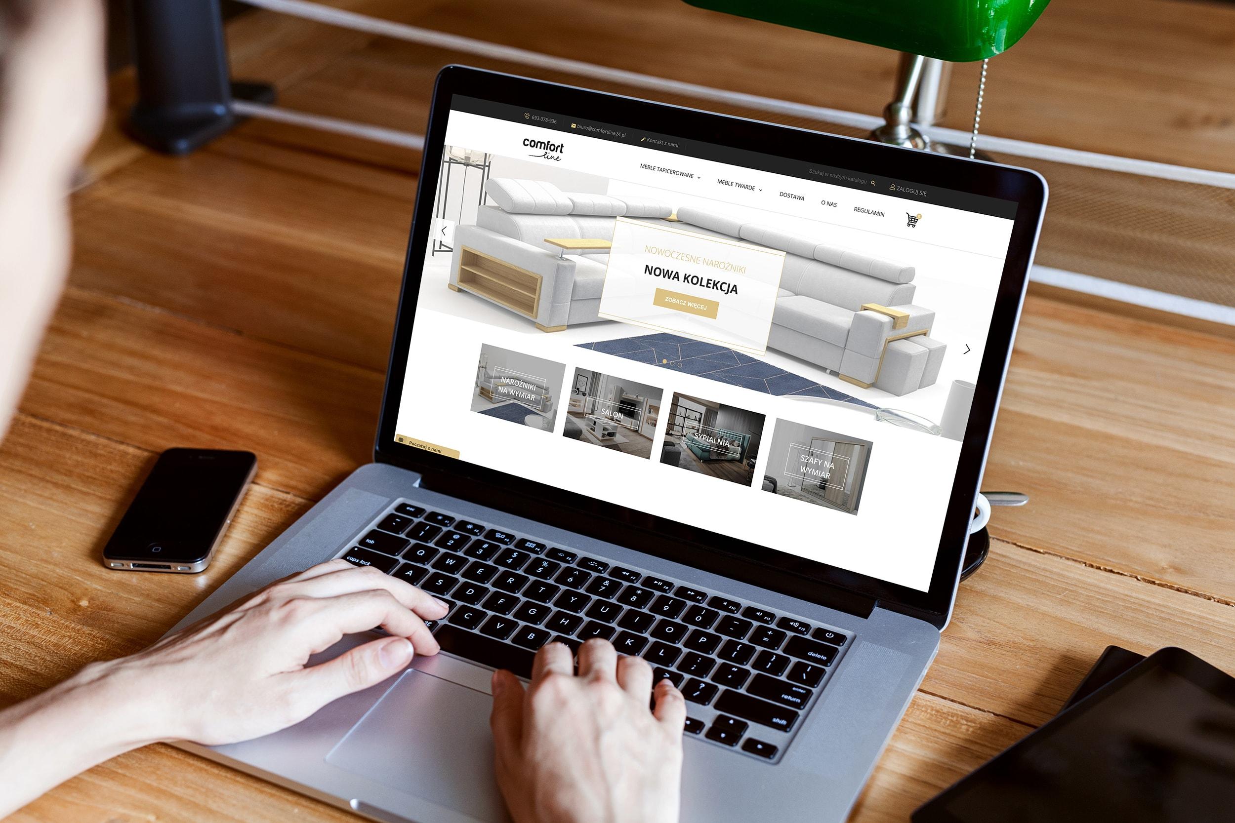 screenshot - sklep internetowy comfortline24.pl